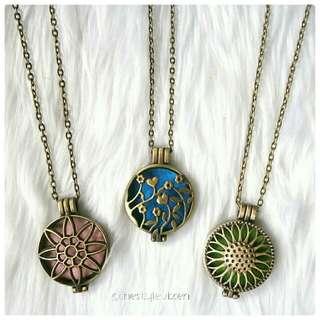 Vintage Diffuser Necklace