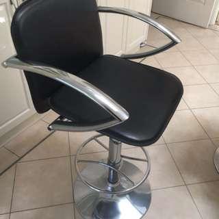Coffee/bar chairs x 2