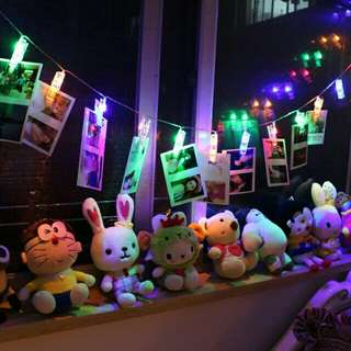 LED 浪漫 燈 相片 夾子 裝飾 燈飾 家居 佈置 情人