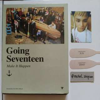 [READY STOCK] SEVENTEEN GOING SEVENTEEN MAKE IT HAPPEN VER