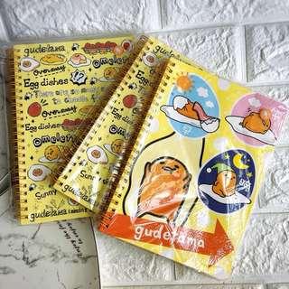 蛋黃哥sanrio筆記本$25一本