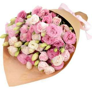 Valentine's Flower Bouquet Vday Delivery D55C
