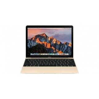 kredit Tanpa Kartu kredit, free 1x angsuran  APPLE MacBook 12 MNYK2 Gold