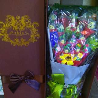 Tororo bouquet ( ready stock 1left )
