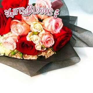Valentine's Bouquet Vday Flower Gift Special V245 - KFEPF