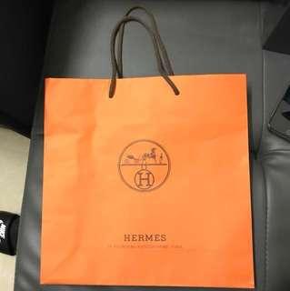 Hermes 中紙袋