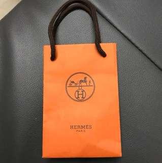 Hermes 小小紙袋