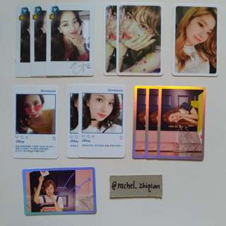 TWICE SIGNAL & TWICETAGRAM OFFICIAL PHOTOCARD