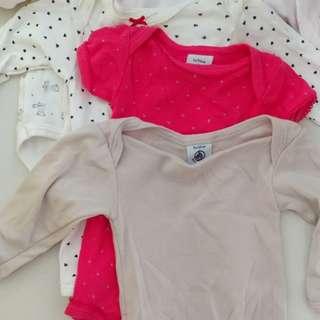 Petit bateau baby girl clothings