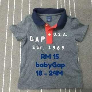 babyGap T-shirt, 18-24M / 1.5-2T