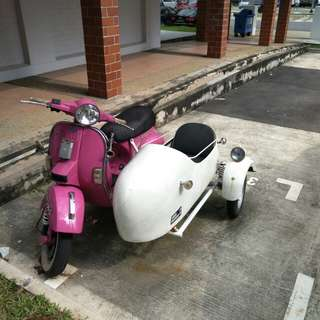 Sidecar for vespa