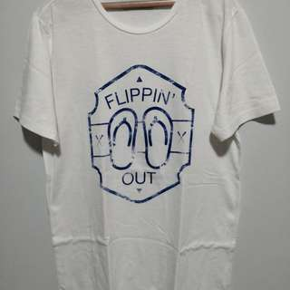 Flippin out shirt Large