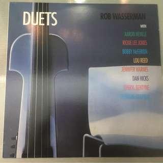 Rob Wasserman – Duets, Vinyl LP, alto – AA011, 1997, USA