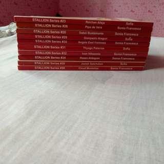 Stallion Series (PHR) Books 23,26,28,29,30,31,32,34,35,36