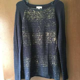 Knitted Navy Colorbox