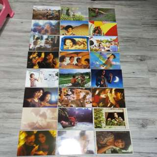 Singapore airlines old postcard