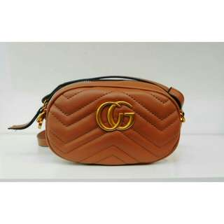 GUCCI LADIES POUCH (BROWN)