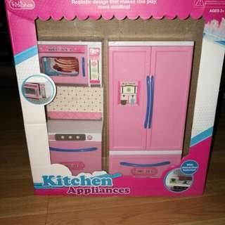 Kitchen appliances for barbie