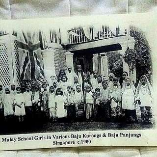 Old Singapore Printed Picture