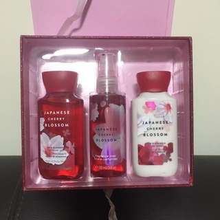 Bath & Body Works Gift Set