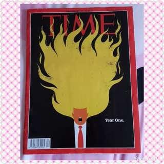 New TIME Magazine 22 JAN 2018