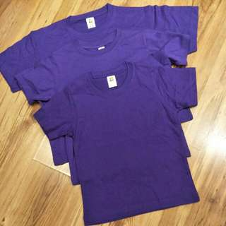 Kids Purple Tees