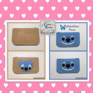 Personalized square purse