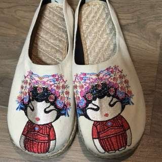 Beautiful classic lady's shoes