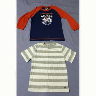 Brand New Boys Shirts 4T