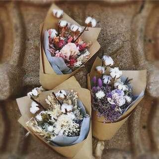 Dried potpourri flowers