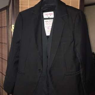 Tuxedo/suit/coat and vest (Dior and Zara brands)