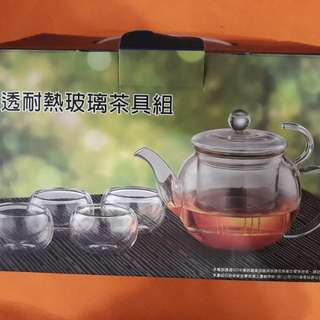 玻璃茶具組