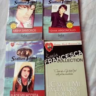 Stallion Island Series (PHR) Books 1,3,13 * Catch Me I'm Falling For You by Sonia Francesca