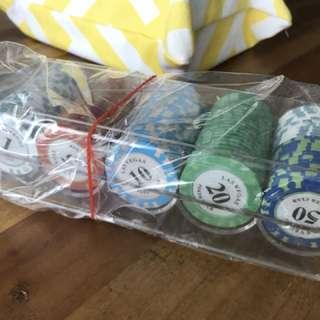 Poker chips iron-core heavy duty professional mahjong poker chips