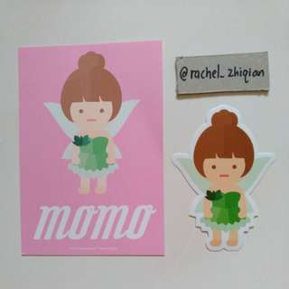 [READY STOCK] TWICE TWICELAND THE OPENING POSTCARD + STICKER SET (MOMO)