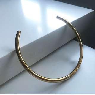 【Jennifer Fisher Jelwery】Round Reverse Choker / gold-plated choker NET-A-PORTER