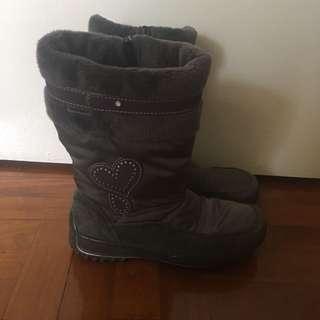 Winter kids boots