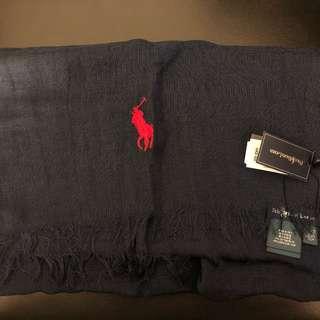 全新Polo 頸巾(深藍色)