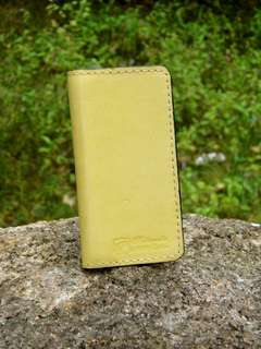 Iphone 5 5SE 真皮 手機套 手機殼 DIY handmade leather phone case