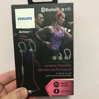 Philips ActionFit Sports in ear headphones