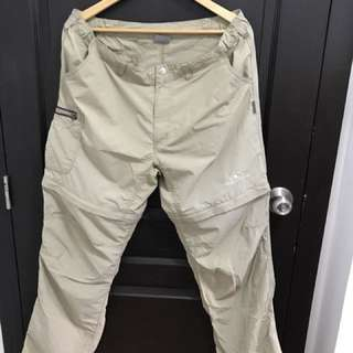 Dreamway convertible trekking and hiking pants