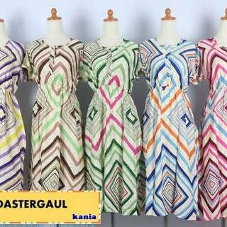 Daster busui-karet pinggang fit to L