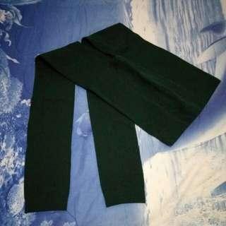 墨綠內搭褲襪
