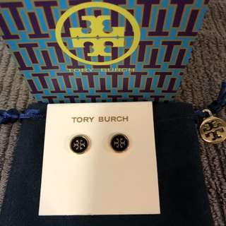 Tory Burch Logo Earrings