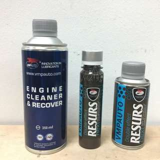 RESURS - 350 ml Engine Flush/RESURS NEXT - 75g Engine Restorer/RESURS NEXT - 150g Engine Restorer