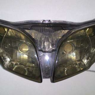 Lagenda 110zr Headlight Cover Smoky