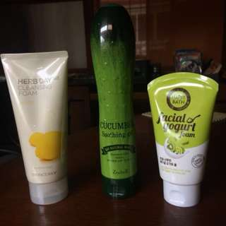 SALE skin care bundle (The Face Shop, Korean)