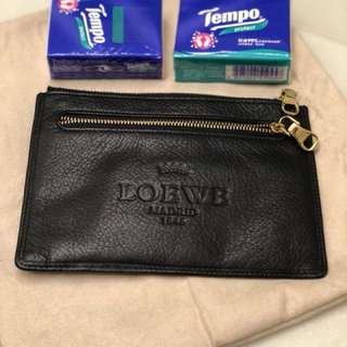 Loewe small leather pouch