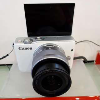 Kamera Canon Eos M10 Cash Back 800 Ribu (KREDIT MURAH)