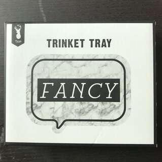Fancy Trinket Tray